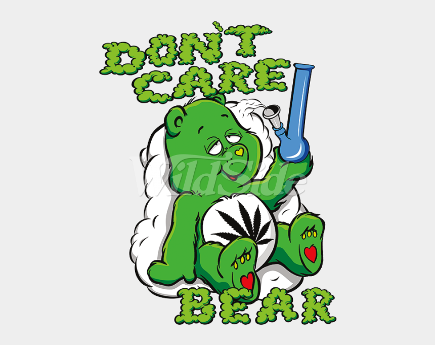 care bear clipart, Cartoons - Don T Bong The Wild Side Dont Ⓒ - Dont Care Care Bear