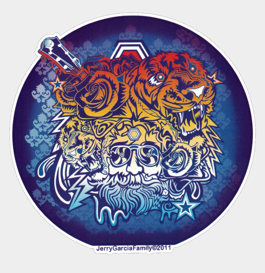 grateful dead clipart, Cartoons - Grateful Dead Jerry Garcia Tigers - Grateful Dead