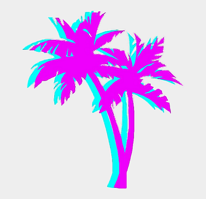 80's clipart, Cartoons - Tumblr Png Palm Tree - 80s Palm Tree Png
