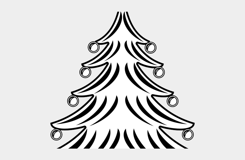Bare Christmas Tree Clipart.Fir Tree Clipart Bare Christmas Symbols Images Black And