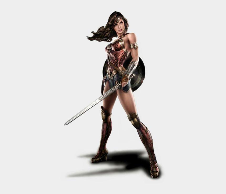 wonder women clipart, Cartoons - Woman Warrior Clipart Transparent - Wonder Woman Dawn Of Justice