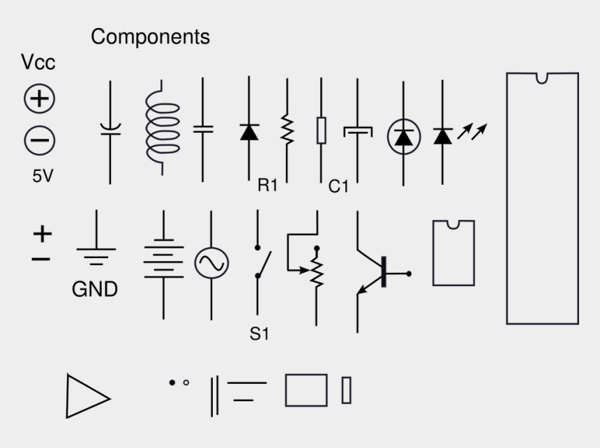 thunderbolt clipart, Cartoons - Vector Electronics - Electronic Components Drawing