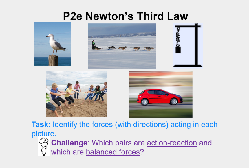 newton's first law of motion clipart, Cartoons - Newtons Third Law Gcse