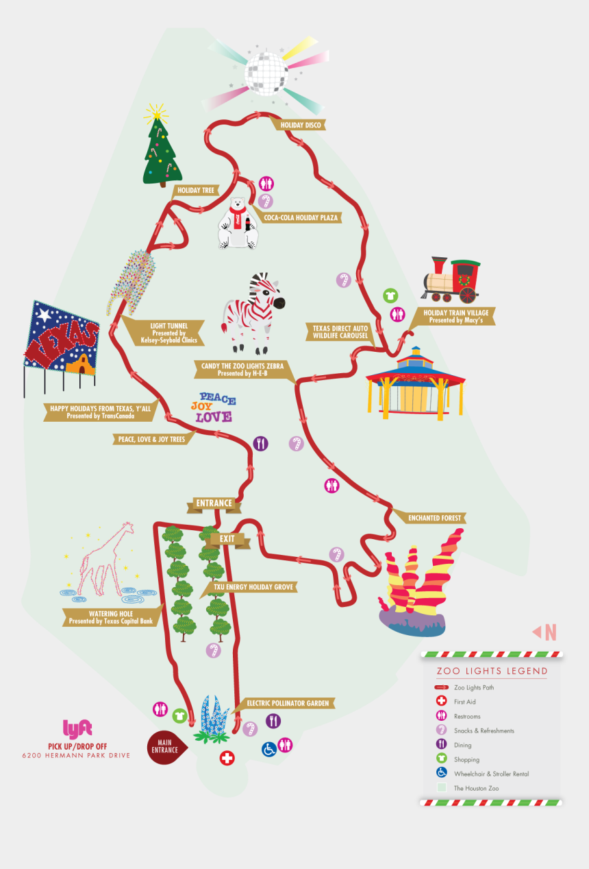 houston texas map clipart, Cartoons - Exit Clipart Zoo - Christmas Tree