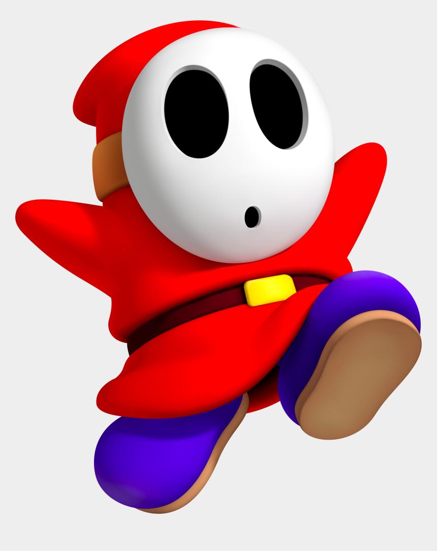 enemy clipart, Cartoons - Nerves Clipart Shy Man - Bad Mario Characters