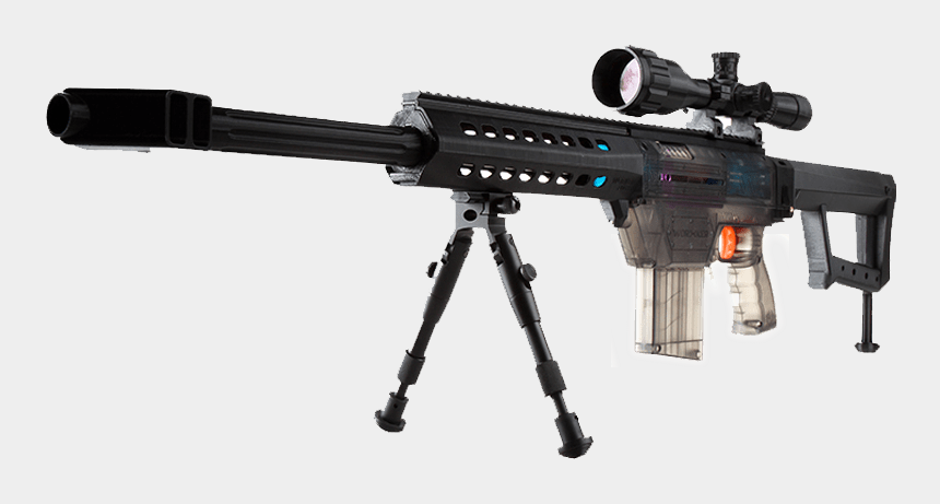 nerf gun clipart, Cartoons - Vector Mod Nerf Stryfe - Nerf Retaliator Sniper Awp