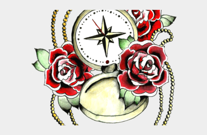 beauty and the beast rose clipart, Cartoons - Rose Tattoo Clipart Animal - Garden Roses