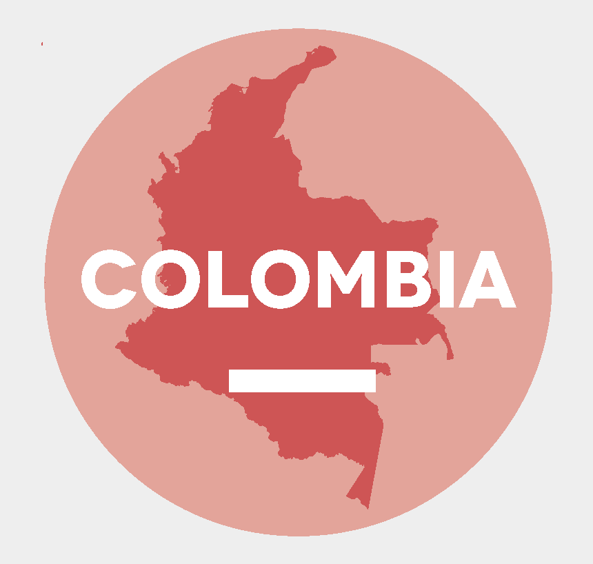 freedom of assembly clipart, Cartoons - Eena Country Reports - Colombia Map Flag