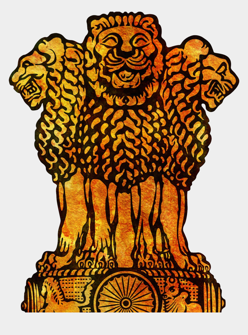 freedom of assembly clipart, Cartoons - Coat Of Arms Of India Png - National Emblem Of India