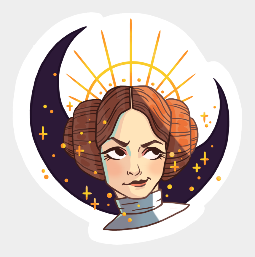 princess leia clipart, Cartoons - Star Wars Tumblr Png