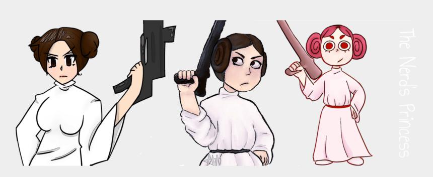 princess leia clipart, Cartoons - I Am The Love Child Of Princess Leia - Cartoon