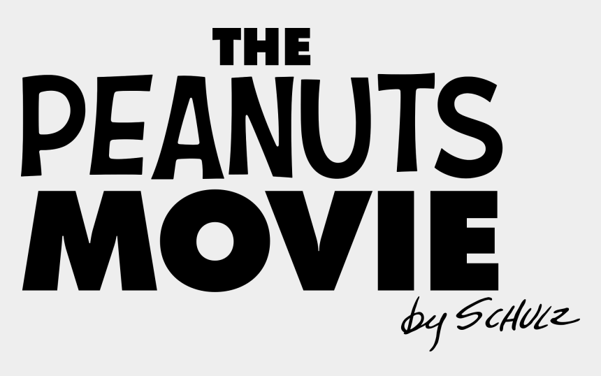 peanuts characters clipart, Cartoons - The Peanuts Movie Logo Png - Peanuts Movie Logo Png