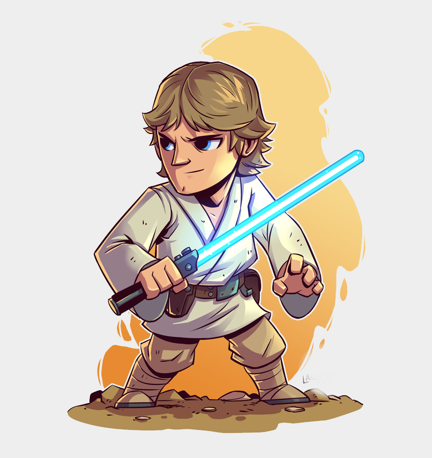 princess leia clipart, Cartoons - Luke Skywalker Cliparts - Star Wars Luke Skywalker Cartoon