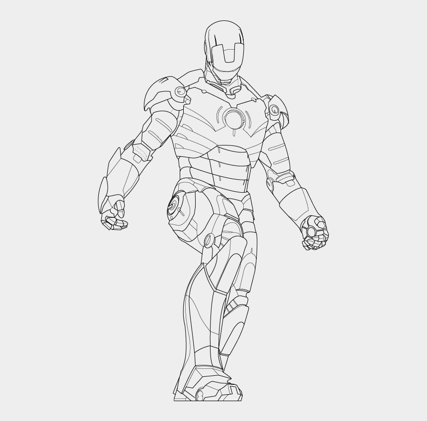 iron man clipart black and white, Cartoons - Iron Man Line Drawing At Getdrawings Com Ⓒ - Iron Man Line Drawings