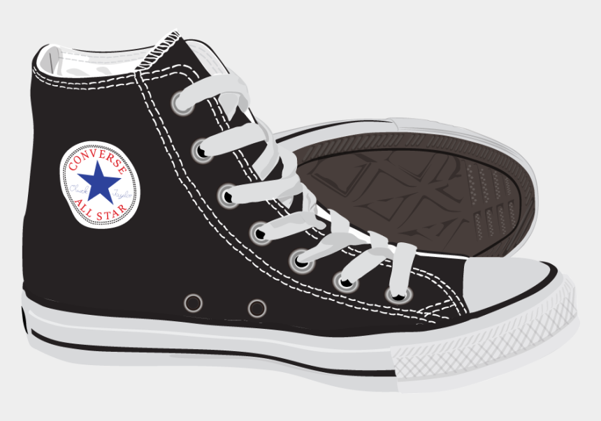 converse clipart, Cartoons - Fashion Shoes Ray-ban Polyvore Converse Painted Vector - Old School Chuck Taylors Shoes