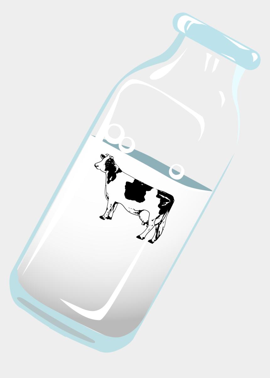 men's breakfast clipart, Cartoons - Milk And Cow Png
