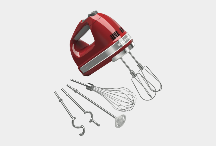 kitchenaid mixer clipart, Cartoons - Kitchenaid 5khm9212ber 9-speed Digital Hand Mixer With - Kitchenaid Cordless Hand Mixer
