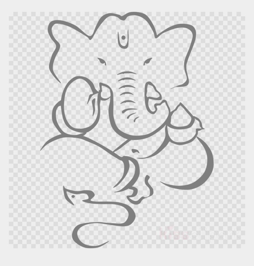 Download Lord Ganesha Drawing Clipart Ganesha Drawing Ganesha With Transparent Background Cliparts Cartoons Jing Fm