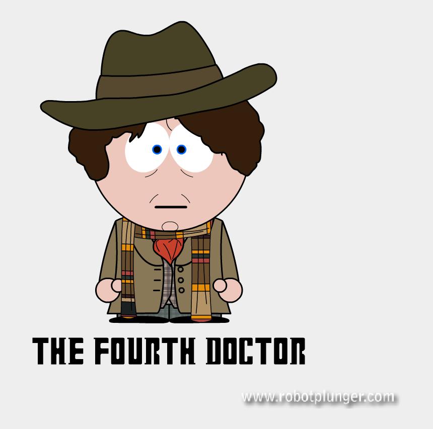 dr who clipart, Cartoons - Doctor Who South Park - Tom Baker Dr Who Cartoon