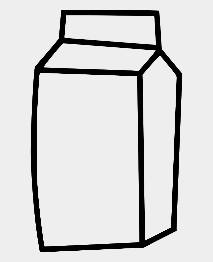 juice clipart black and white, Cartoons - Clipart Milk Milk Juice