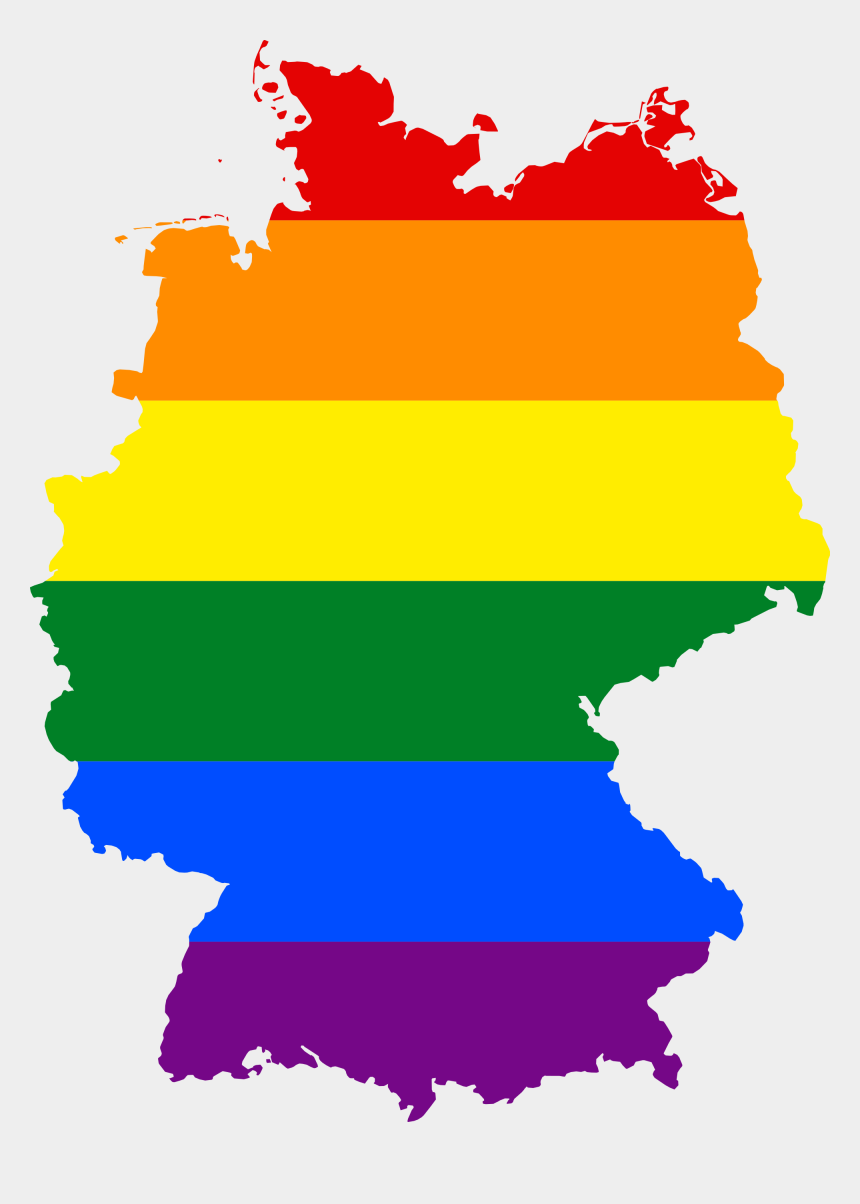 same clipart, Cartoons - Merkel's Decision To Allow Same Sex Marriage Is A Calculated - Germany Lgbt Flag