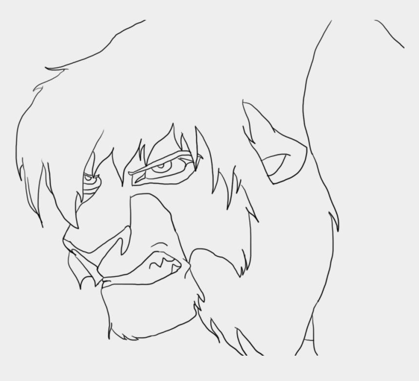 lion guard clipart, Cartoons - Lion King Coloring Pages Kovu - Lion King 2 Kovu Drawing