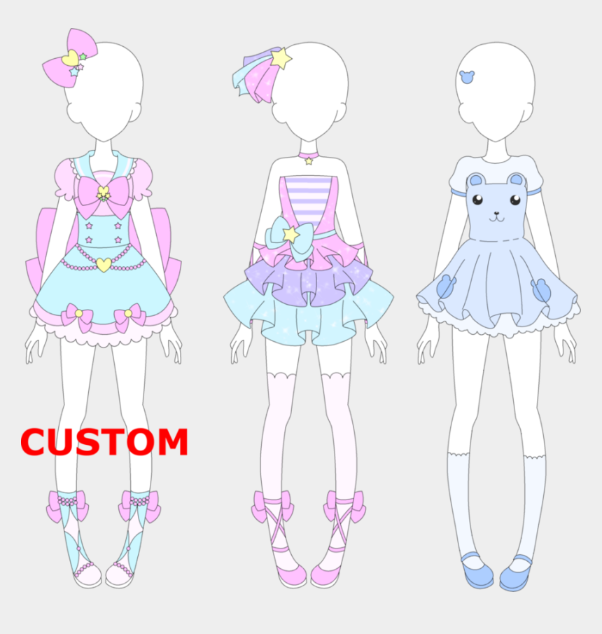 girl putting on clothes clipart, Cartoons - Clothing Clipart Stack Clothes - Fairy Kei Outfits Drawing