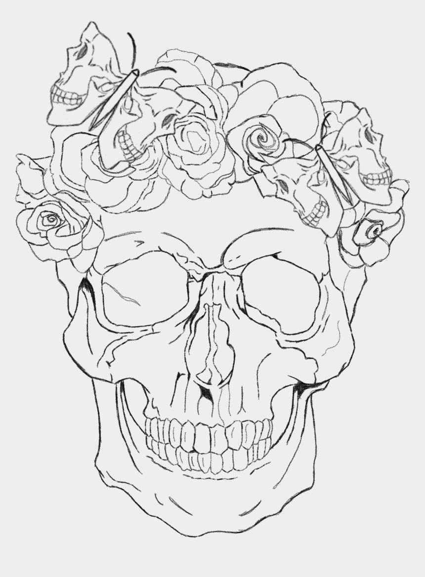 cute halloween skeleton clipart, Cartoons - Drawing Creativity Skeleton - Sketch