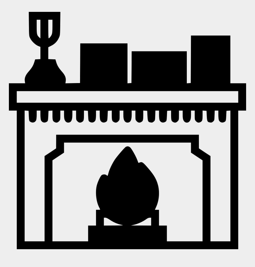 Enjoyable Fireplace Clipart Png Black And White Png Download Home Interior And Landscaping Palasignezvosmurscom