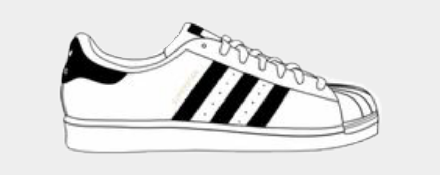 superstars clipart, Cartoons - #adidas #superstars #superstar #shoe #shoes - Stickers Tumblr Adidas