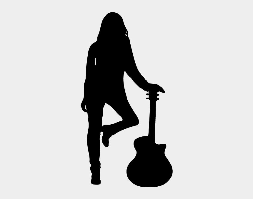 rock star clipart, Cartoons - Musician Clipart Rock Musician - Silhouette