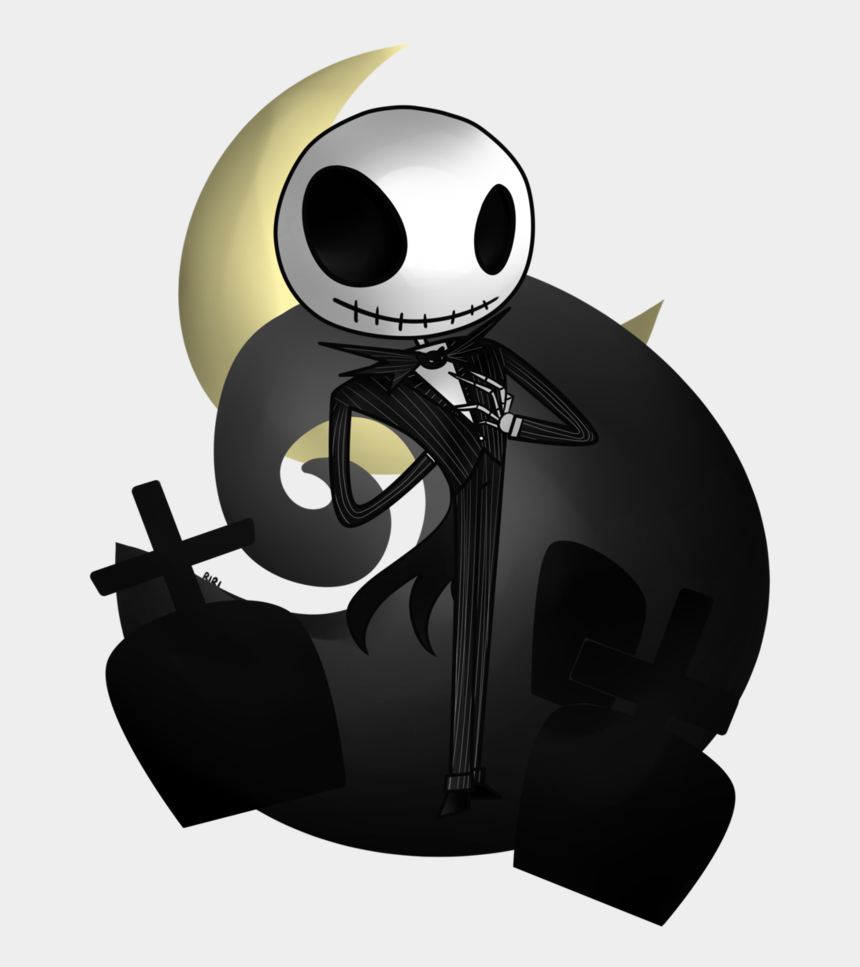 jack skellington clipart, Cartoons - Jack And Sally Png - Nightmare Before Christmas Chibi
