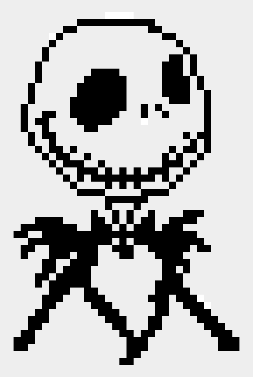 jack skellington clipart, Cartoons - Jack Skellington - Pixel Art Jack Skeleton