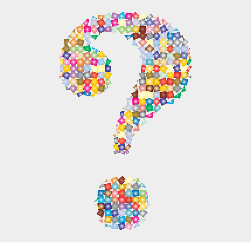 punctuation clipart, Cartoons - Question Mark Computer Icons Punctuation Symbol Information - Colorful Question Mark Png