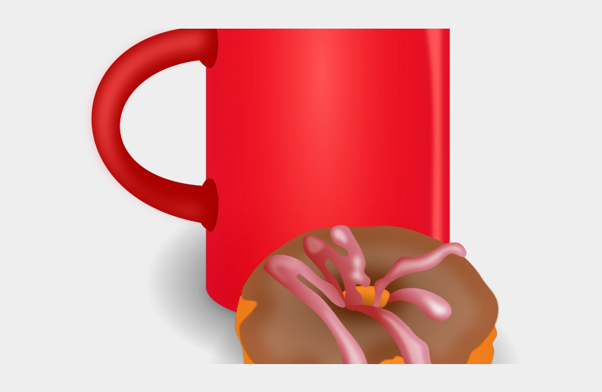 anxious clipart, Cartoons - Doughnut Clipart Coffee - Donuts And Coffee Png