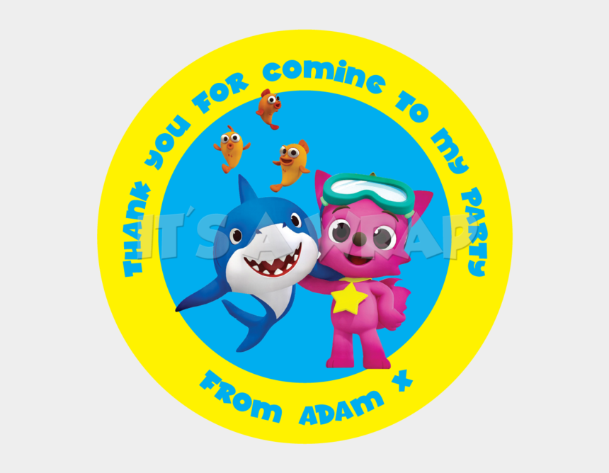 jurassic world clipart, Cartoons - Baby Shark Sweet Cone Stickers - Stickers De Baby Shark