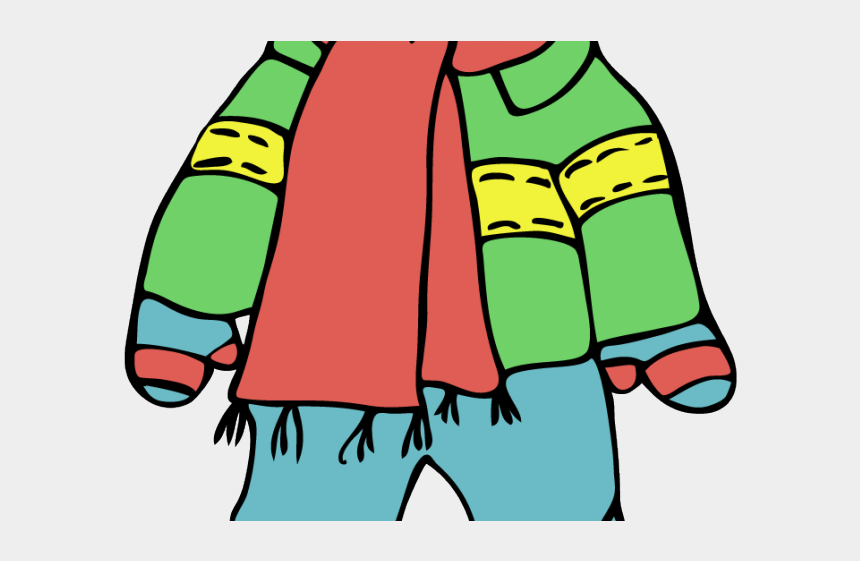 winter jacket clipart, Cartoons - Winter Snow Clipart Wear - Wearing Winter Clothes Clipart