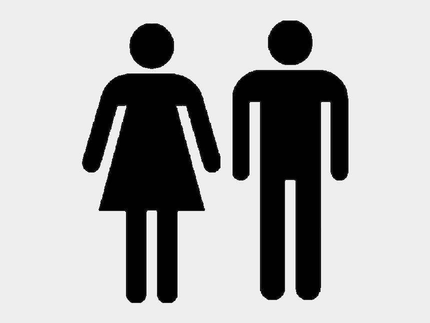 neighborhood clipart black and white, Cartoons - Sex - Man And Woman Icon Png