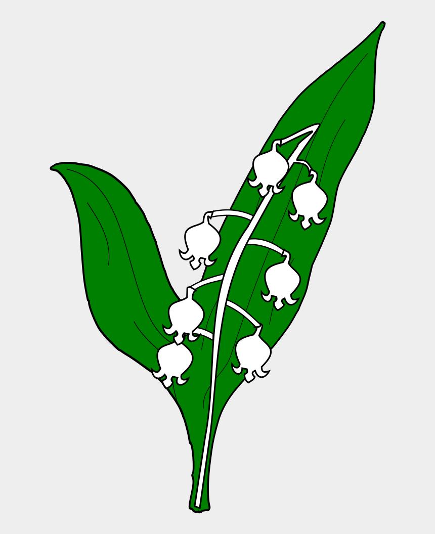 lily of the valley clipart, Cartoons - Meuble Héraldique Muguet - Muguet Png