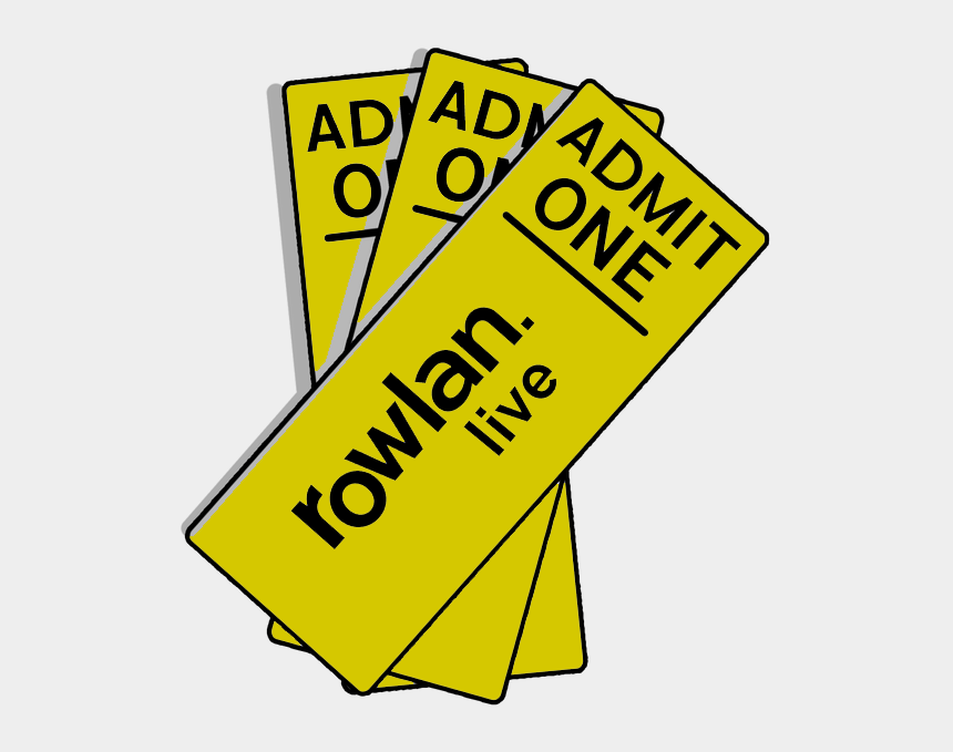 admit one ticket clipart, Cartoons - Image Of Rowlan