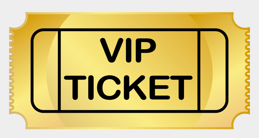admit one ticket clipart, Cartoons - Vip Ticket Png - Sign