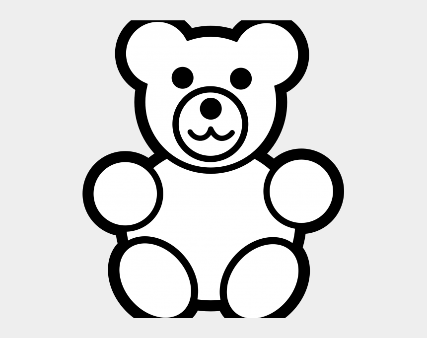 Line Drawing Teddy Bear - Colouring Pages Of Teddy Bear, Cliparts &  Cartoons - Jing.fm