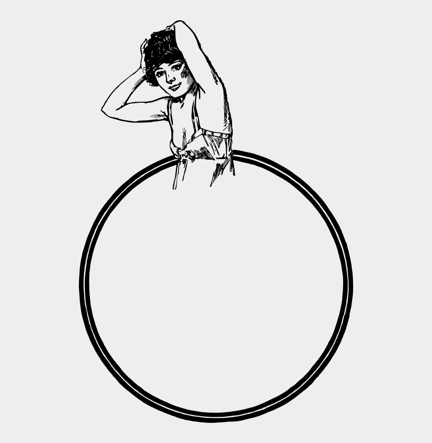nightgown clipart, Cartoons - Circle Nightie Frame - Manchester