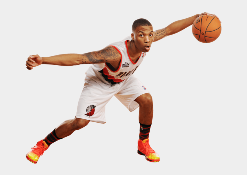 stephen curry clipart, Cartoons - Damian Lillard Arms Spread - Derrick Rose 3.5 On Game