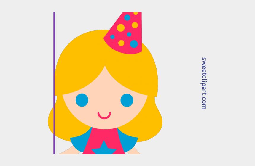 teenage girls clipart, Cartoons - Birthday Girl Clipart - Baby Girl Birthday Clipart