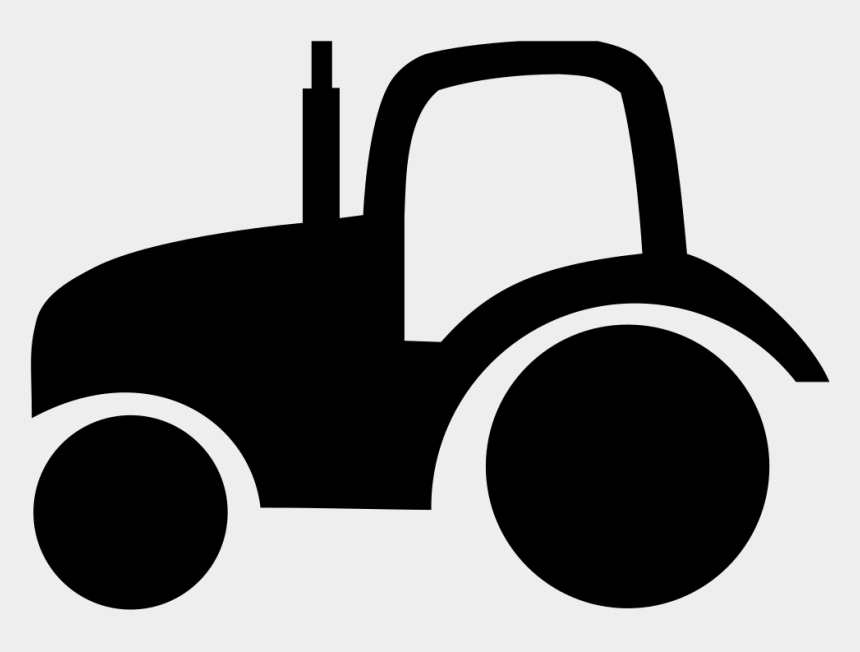 tractor clip art, Cartoons - Tractor Pictogram - Silhouette Tractor Clipart