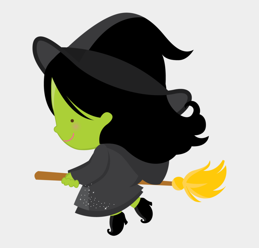 cute halloween clip art, Cartoons - O Mágico De Oz - Halloween Clipart Witch Cute