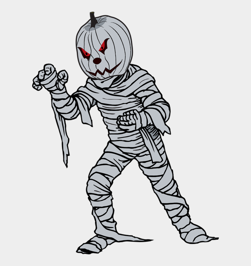 cute halloween clip art, Cartoons - Great Clip Art For Halloween - Mummy Halloween Coloring Pages