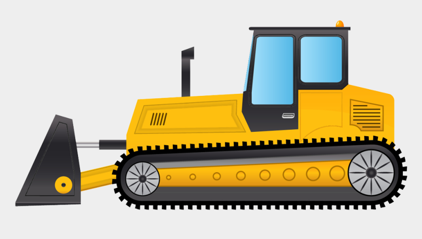 tractor clip art, Cartoons - Png Photo, Tractors, Birthday Cakes, Monster Trucks, - Bulldozer Clipart Png