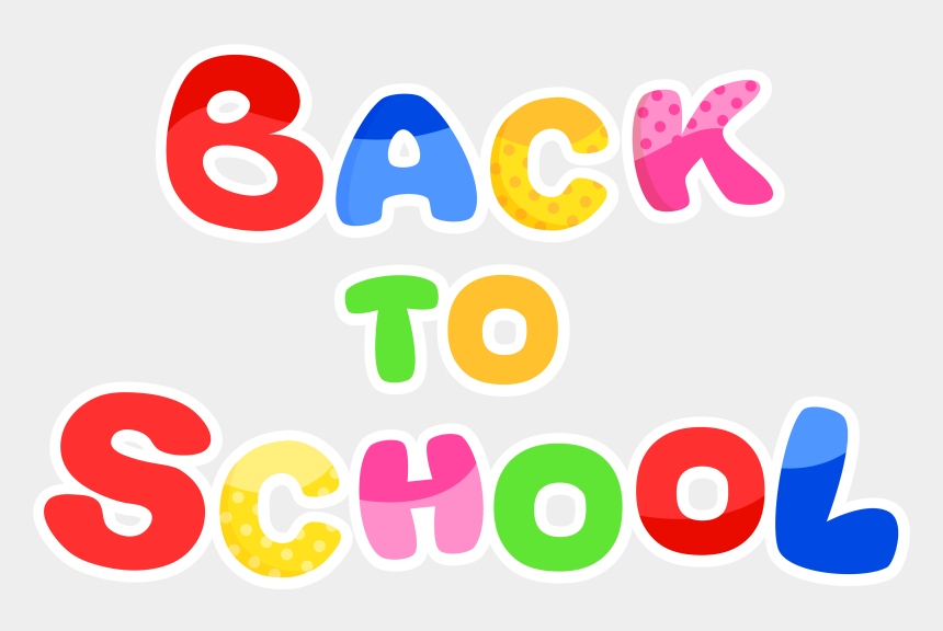 free clip art school, Cartoons - Clip Art Free Vector 4vector - Transparent Back To School